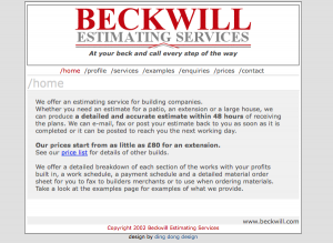 beckwill-estimating-services