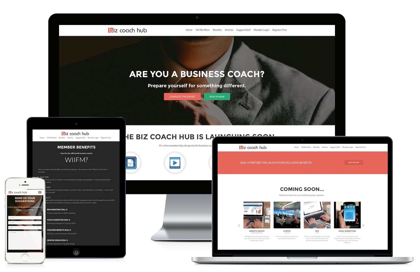 Membership Portal For Business Coach Resources Belluber Marketing And Web Development