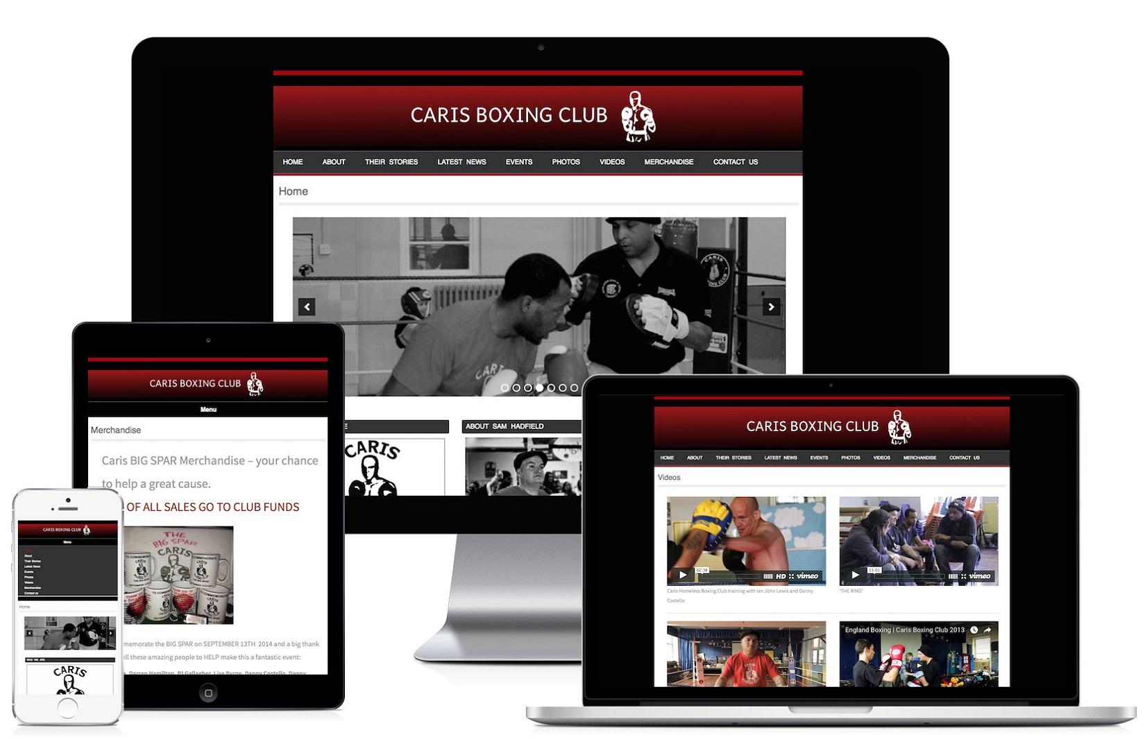 Website For Homelessness Charity Belluber Marketing