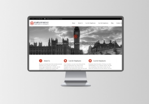employment lawyer london website design