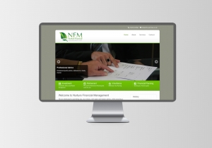 nfm services website design