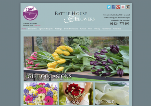 marketing for florist in Battle, East Sussex