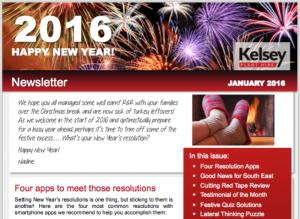 kelsey newsletter