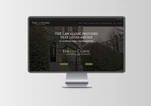 the law clinic website design