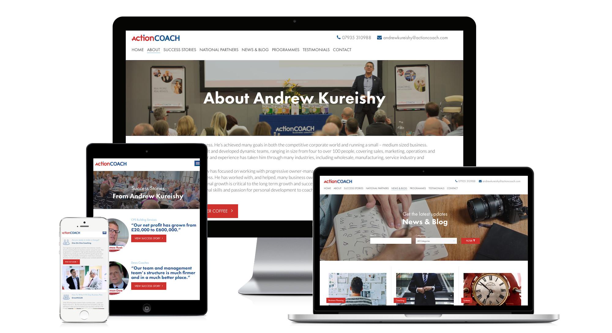 andrew kureishy website